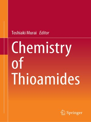 cover image of Chemistry of Thioamides