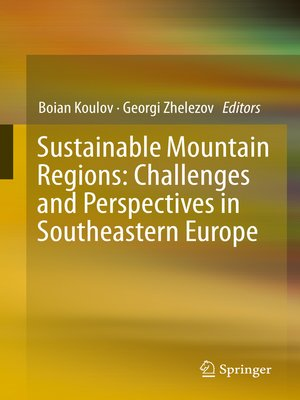 cover image of Sustainable Mountain Regions