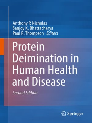 cover image of Protein Deimination in Human Health and Disease