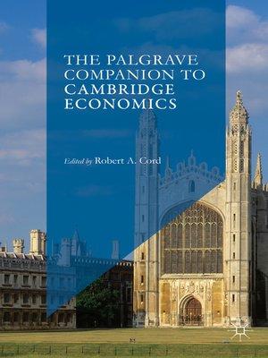 cover image of The Palgrave Companion to Cambridge Economics