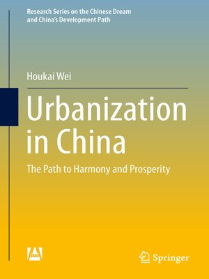 cover image of Urbanization in China