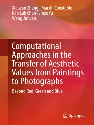 cover image of Computational Approaches in the Transfer of Aesthetic Values from Paintings to Photographs