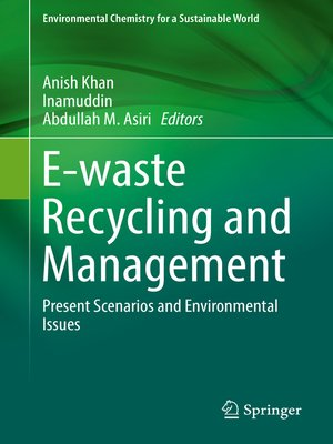 cover image of E-waste Recycling and Management