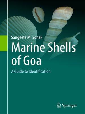 cover image of Marine Shells of Goa