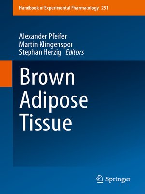 cover image of Brown Adipose Tissue