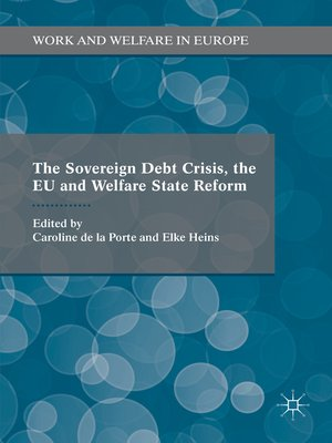 cover image of The Sovereign Debt Crisis, the EU and Welfare State Reform