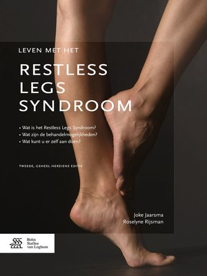 cover image of Leven met het restless legs syndroom