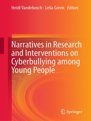 cover image of Narratives in Research and Interventions on Cyberbullying among Young People