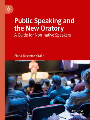 cover image of Public Speaking and the New Oratory