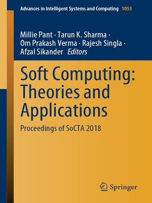 cover image of Soft Computing