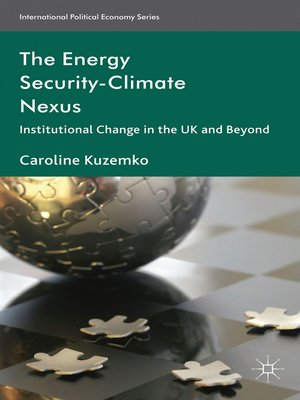 cover image of The Energy Security-Climate Nexus