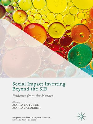 cover image of Social Impact Investing Beyond the SIB
