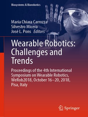cover image of Wearable Robotics