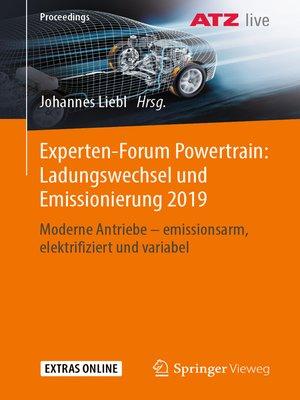 cover image of Experten-Forum Powertrain
