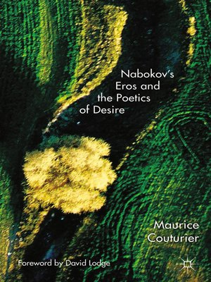 cover image of Nabokov's Eros and the Poetics of Desire