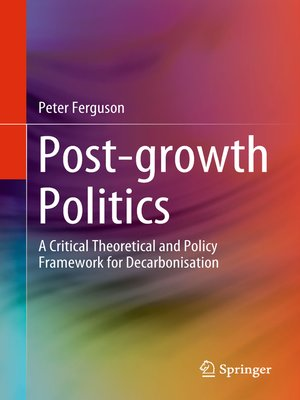 cover image of Post-growth Politics