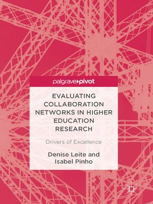 cover image of Evaluating Collaboration Networks in Higher Education Research