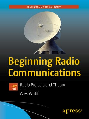 cover image of Beginning Radio Communications