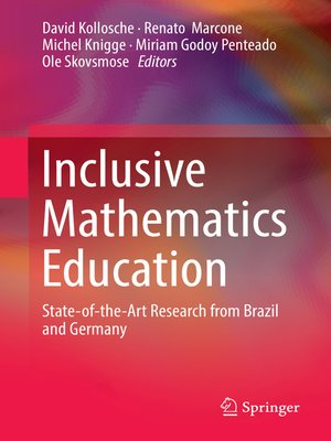 cover image of Inclusive Mathematics Education