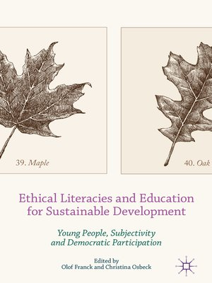 cover image of Ethical Literacies and Education for Sustainable Development