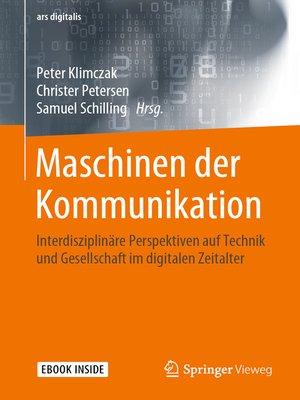 cover image of Maschinen der Kommunikation