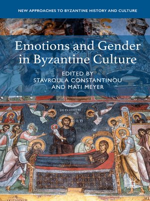 cover image of Emotions and Gender in Byzantine Culture