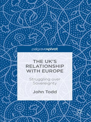 cover image of The UK's Relationship with Europe