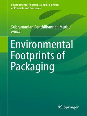 cover image of Environmental Footprints of Packaging