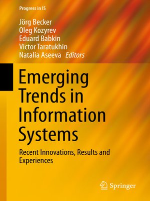 cover image of Emerging Trends in Information Systems
