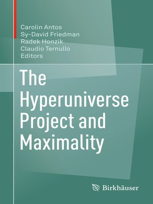 cover image of The Hyperuniverse Project and Maximality