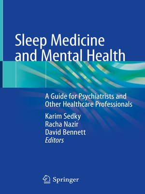 cover image of Sleep Medicine and Mental Health