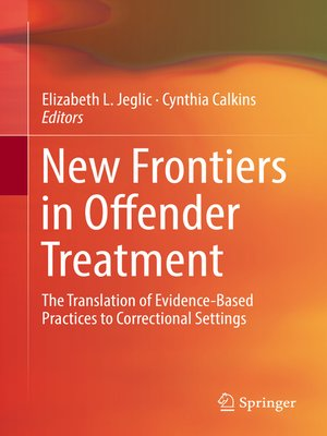 cover image of New Frontiers in Offender Treatment
