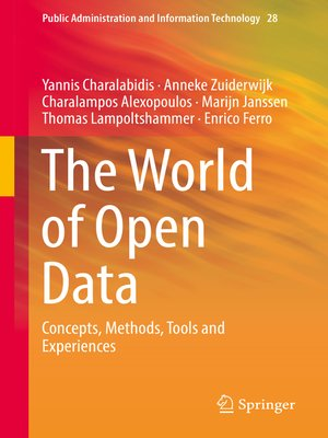 cover image of The World of Open Data
