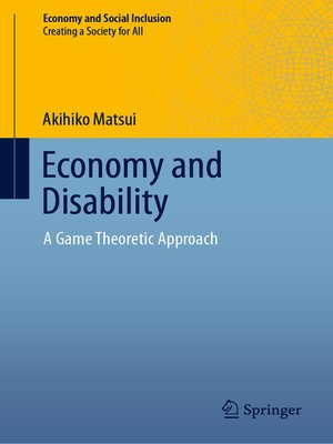 cover image of Economy and Disability