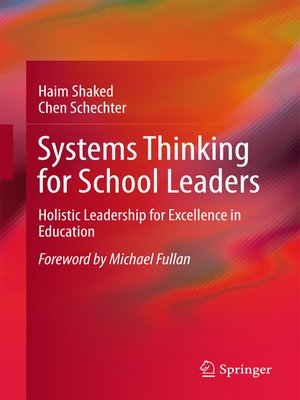 cover image of Systems Thinking for School Leaders