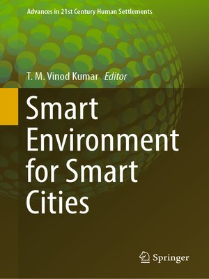 cover image of Smart Environment for Smart Cities