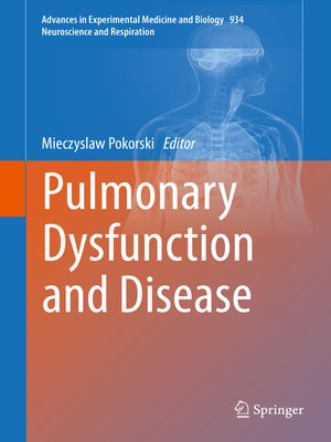 cover image of Pulmonary Dysfunction and Disease