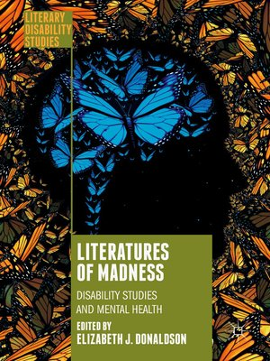 cover image of Literatures of Madness
