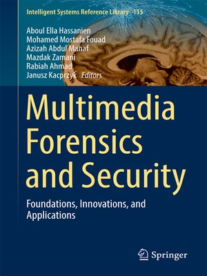 cover image of Multimedia Forensics and Security