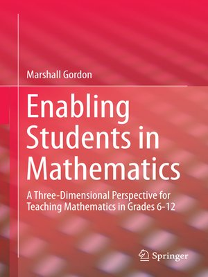 cover image of Enabling Students in Mathematics