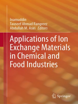 cover image of Applications of Ion Exchange Materials in Chemical and Food Industries