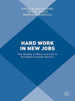 cover image of Hard Work in New Jobs