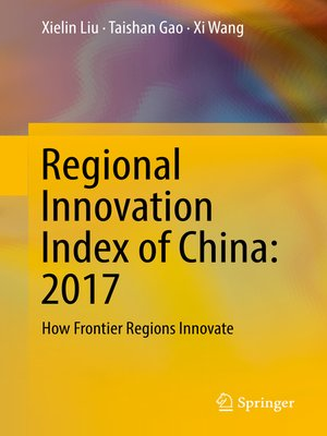 cover image of Regional Innovation Index of China