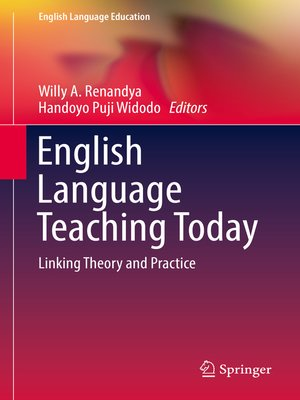 cover image of English Language Teaching Today