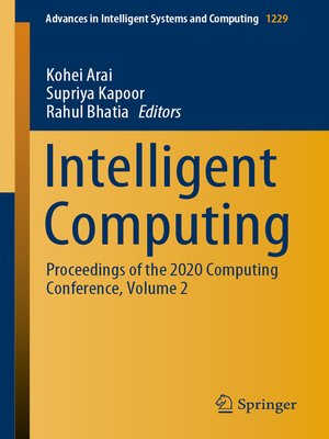 cover image of Intelligent Computing