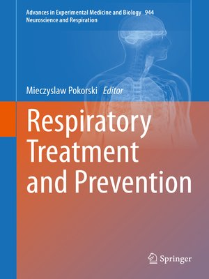 cover image of Respiratory Treatment and Prevention