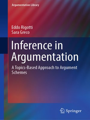 cover image of Inference in Argumentation