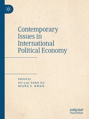 cover image of Contemporary Issues in International Political Economy