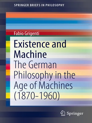 cover image of Existence and Machine