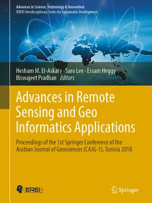 cover image of Advances in Remote Sensing and Geo Informatics Applications